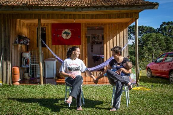 Daiane e Mariana. Catanduvas-SC