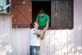 Agnaldo e Rodrigo. Fraiburgo-SC